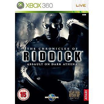 The Chronicles of Riddick Assault på Dark Athena (Xbox 360)-ny