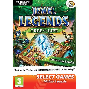 SELECT GAMES - Jewel Legends Tree of Life (PC DVD) - New