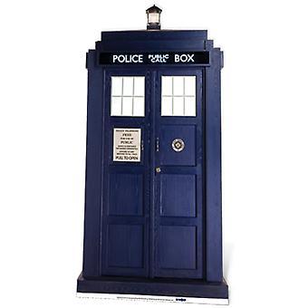 TARDIS - découpe de carton