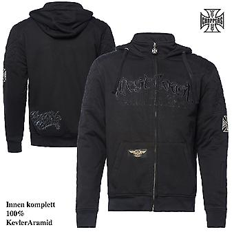 West Coast choppers Zip Hoodie Por Vida
