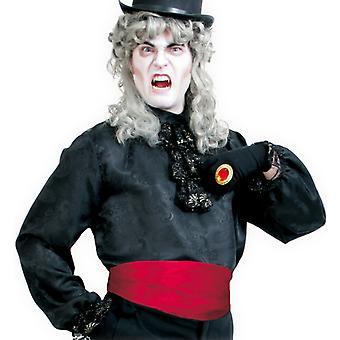 Rammen rød Dracula vampyr kostume tilbehør