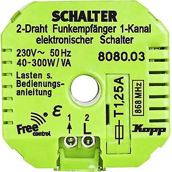 Kopp Free Control 1-kanavainen vastaanotin