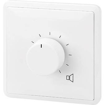 Monacor fordypningen-mount PA volumkontroll hvit