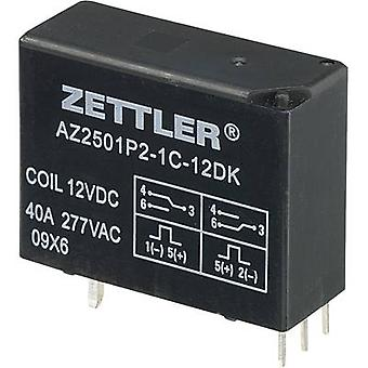 Zettler Electronics AZ2501P2-1C-12DK PCB relay 12 V DC 50 A 1 change-over 1 pc(s)