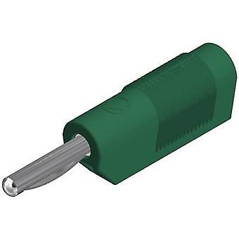 SKS Hirschmann VSB 20 Jack plug Plug, em linha reta diâmetro do pino: 4 mm verde 1 computador (es)