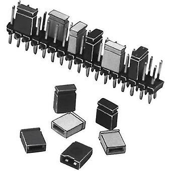 W & P producten 165-101-10-00 kortsluiting jumper contact afstand: 2,54 mm pinnen per rij: 2 inhoud: 1 PC (s)