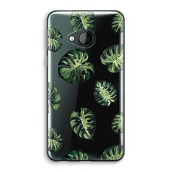 HTC U spelen transparant Case (Soft) - tropische bladeren