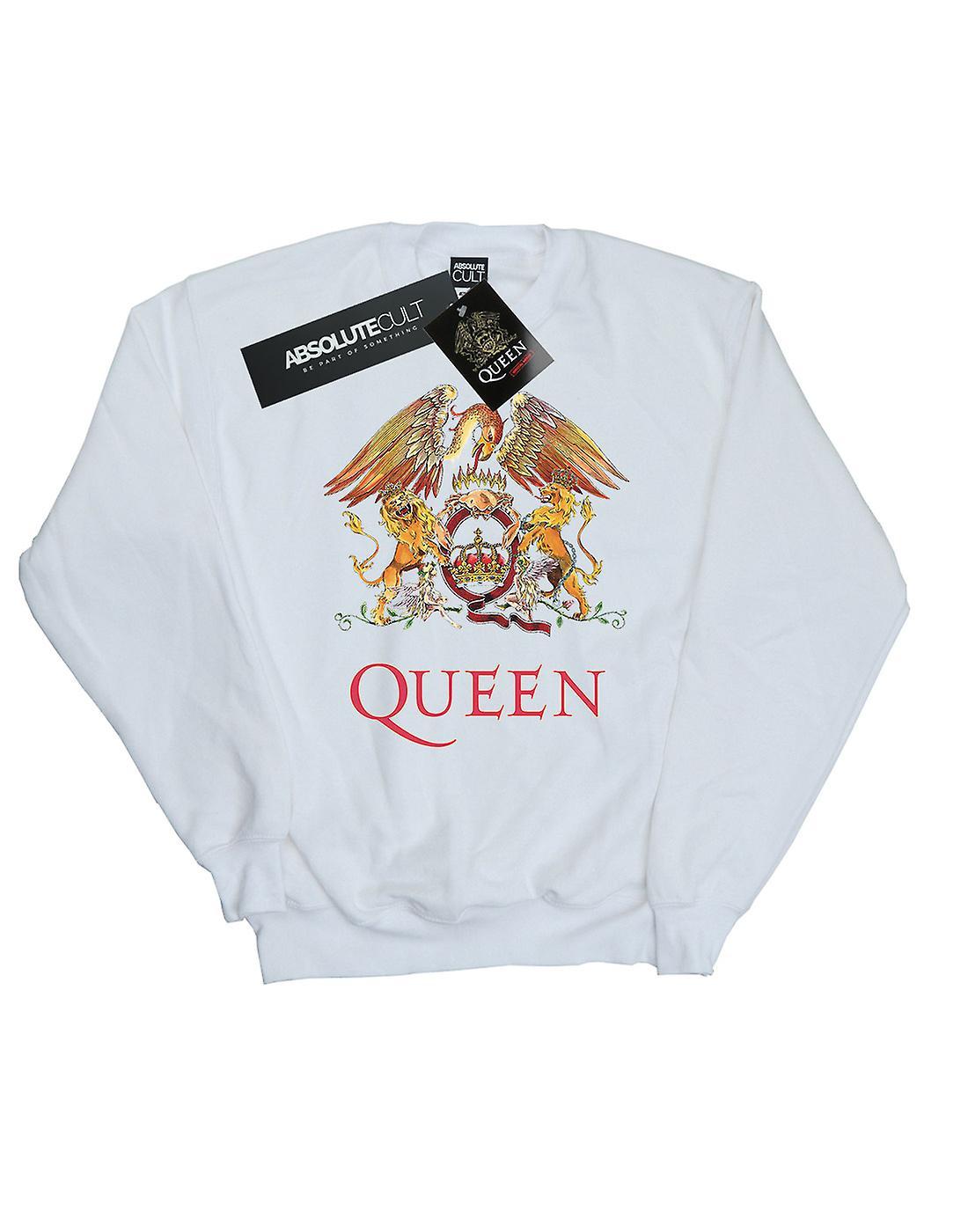 Queen Women's Crest Logo Sweatshirt