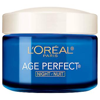 L ' Oréal Paris leeftijd perfecte nachtcrème, anti-slappe + Anti-Age plek Moisturizer 2.5 oz