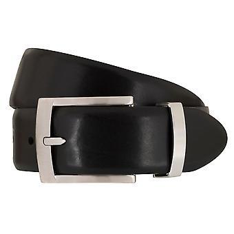 SAKLANI & FRIESE belts men's belts leather belt black 2059