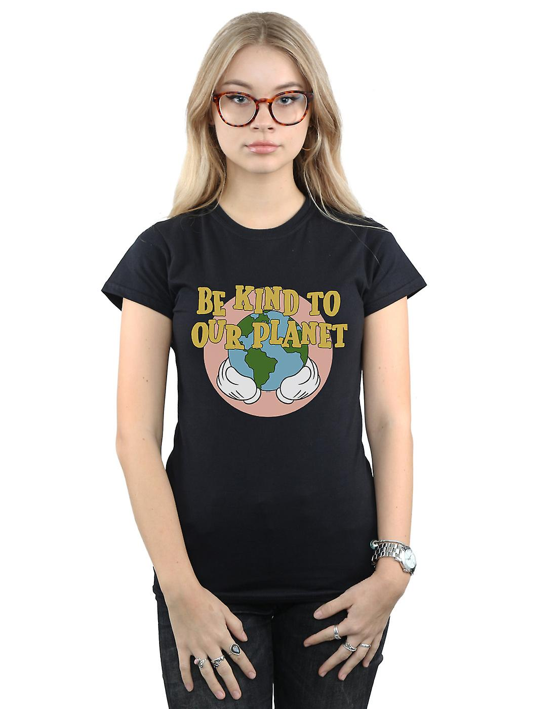 Disney Women's Mickey Mouse Be Kind To Our Planet T-Shirt