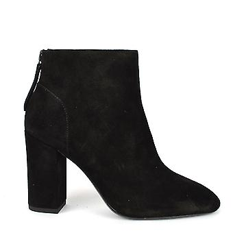 Ash JOY Ankle Boots Black Suede