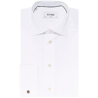 Eton Slim Fit double manchette chemise