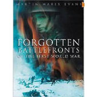 نسيت جبهات القتال الحرب العالمية الأولى بسوزان هاء إيفانز-M