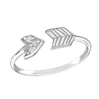 Pfeil - 925 Sterling Silber jeweled Ringe - W15064X