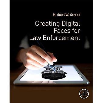 Erstellen von digitalen steht für die Strafverfolgung