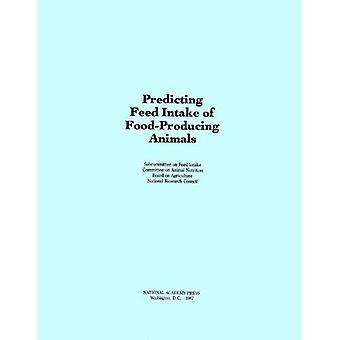 Forutsi fôrinntak mat-produserende dyr