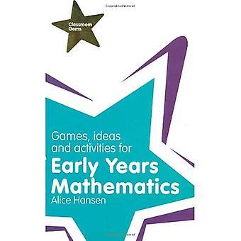 Spel, idéer och aktiviteter för tidiga år matematik