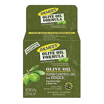 Palmer's oliwy z oliwek formuła Super kontroli krawędzi przytrzymaj żel do włosów 64g