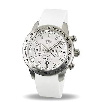 Davis 1692 - Women's wristwatch, caucciu, color: white