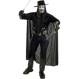 V per Vendetta Costume adulto