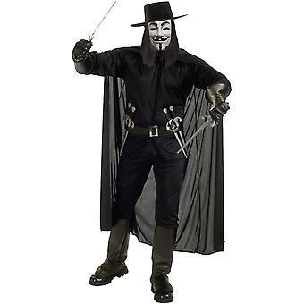 V For Vendetta dorosłych kostium
