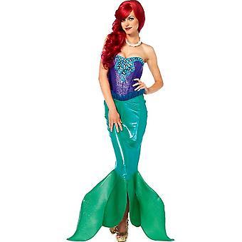 Miss sirena Costume adulto