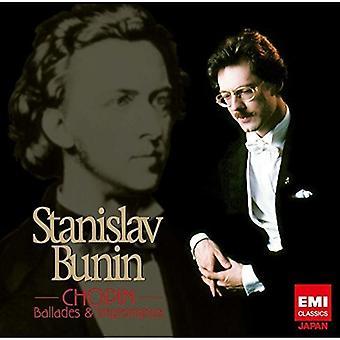 Stanislav Bunin - Chopin: Balladen & Impromptus [CD] USA import