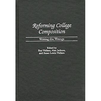 Reforma Colegio composición, corregir los errores por Lewis Wallace & Susan