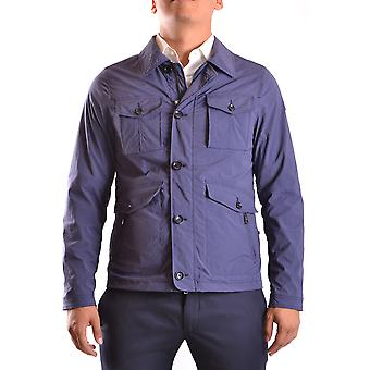 At.p.co Ezbc043002 Men's Blue Nylon Outerwear Jacket