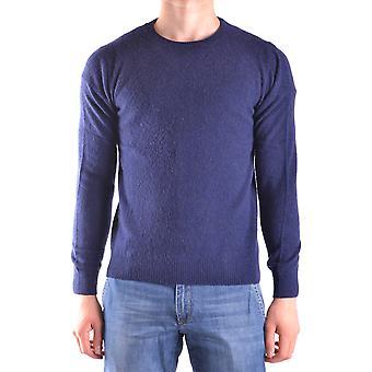 Altea Ezbc048056 Men's Blue Wool Sweater