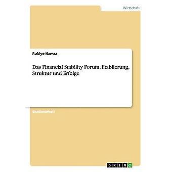 Das Financial Stability Forum. Etablierung Struktur Und Erfolge von Hamza & Rukiye