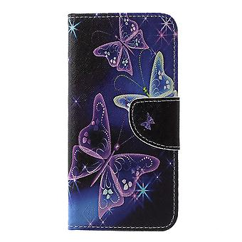Samsung Galaxy S10e Plånboksfodral - Vivid Butterflies