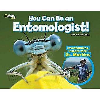 Du kan vara en entomolog: undersöka insekter
