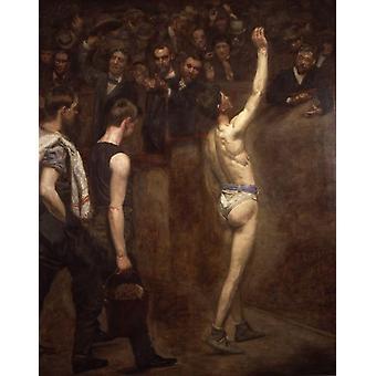 Salutat, Thomas Eakins, 50x40cm