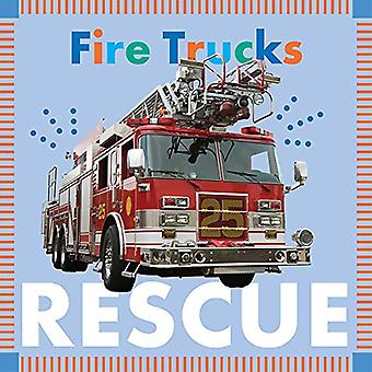 Fire Trucks Rescue by Rebecca Glaser - 9781681522401 Book