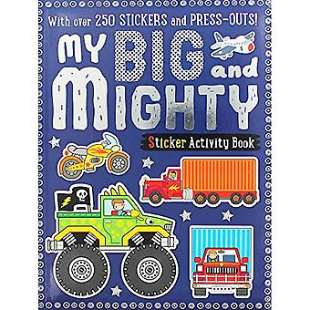 My Big and Mighty Sticker Activity Book - 9781785989384 Book