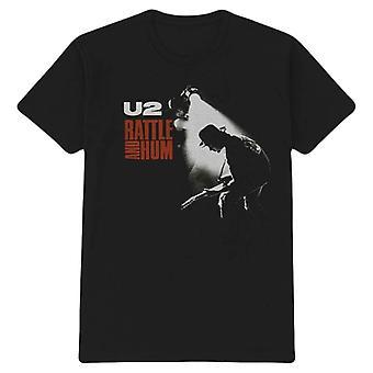 U2 Rattle and Hum T-Shirt - Black/White/Red