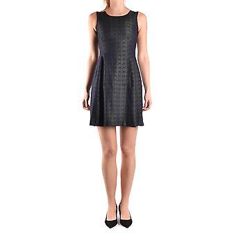 Spago Donna Ezbc300003 Women's Black/green Polyester Dress