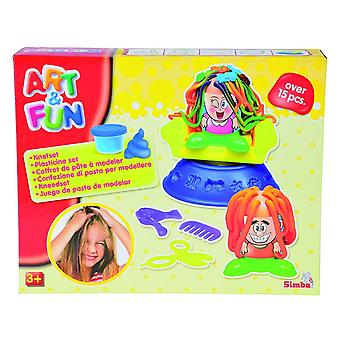 Simba Art & Fun Hairstudio Clay Dough Set