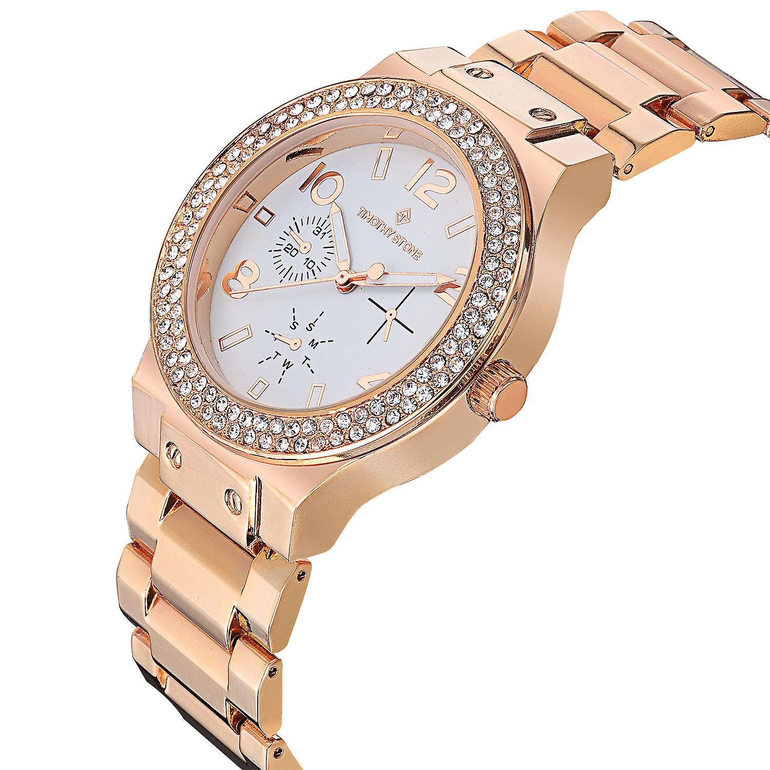 Timothy Stone Women's FA�ON-STAINLESS Rose Gold-Tone Watch