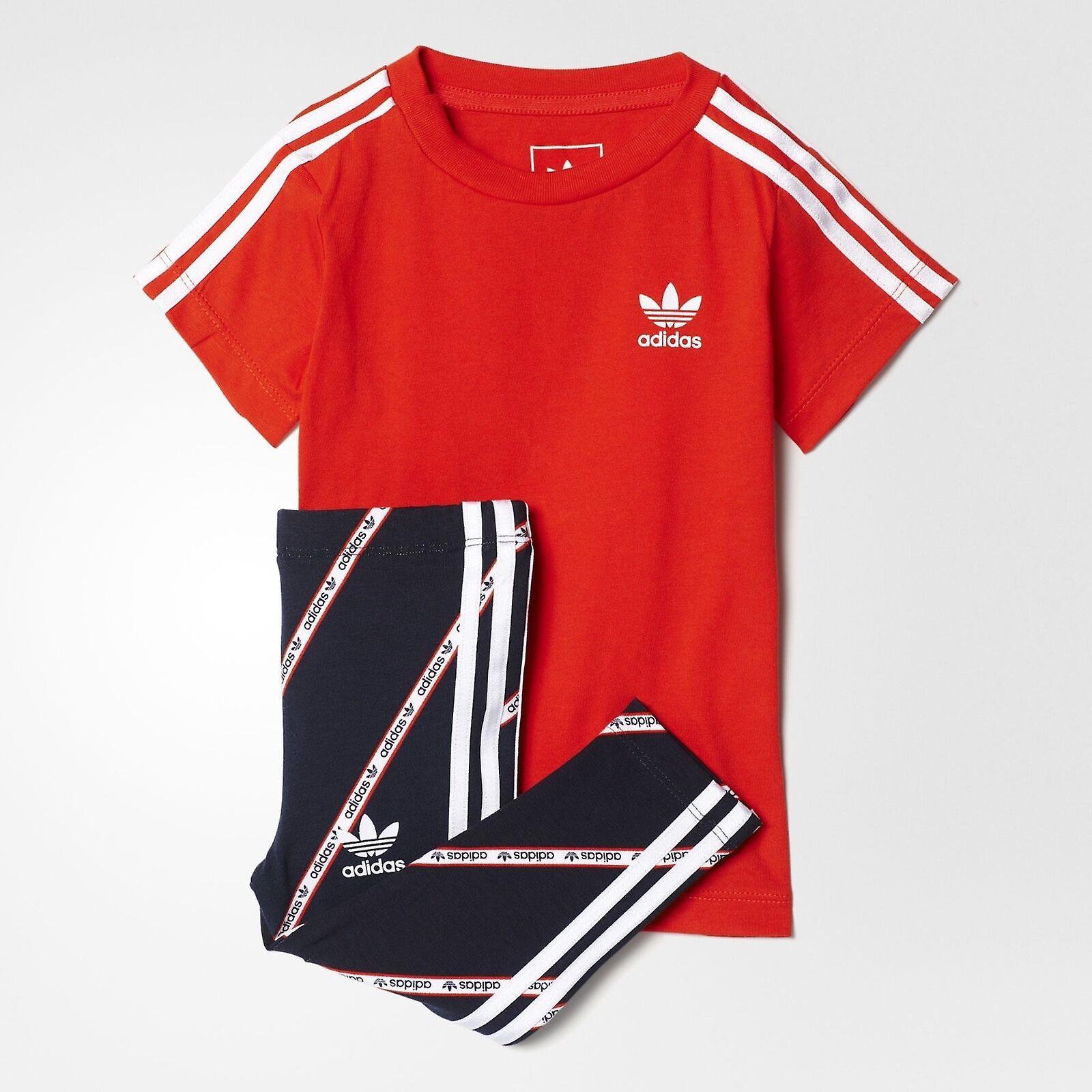 adidas shirt and leggings set