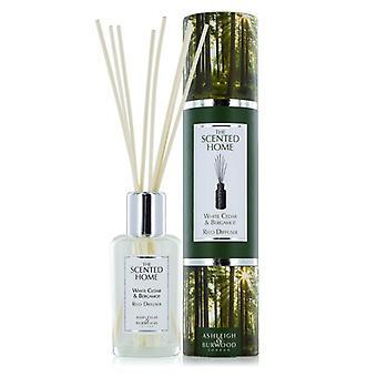 Ashleigh & Burwood Scented Home 150ml Reed Diffuser Gift Set White Cedar & Bergamot