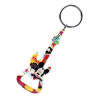 Key Chain - Disney - Mickey Mouse Guitar Bottle Opener New Toys 24842