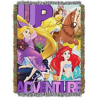 Billedvev kaster-Disney ' s Princess-up for Adventure (48x60