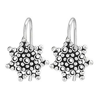 Blasen - 925 Sterling Silber schlichte Ohrringe - W39119X