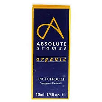 Absolute Aromas, Organic  Patchouli Oil, 10ml