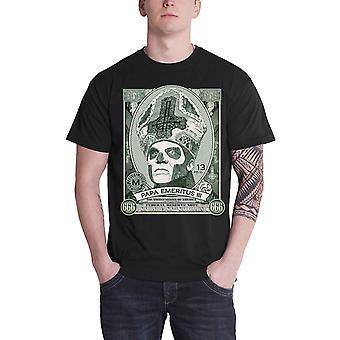Ghost T Shirt Papa kassa dollarn stående logotyp nya officiella Mens svart