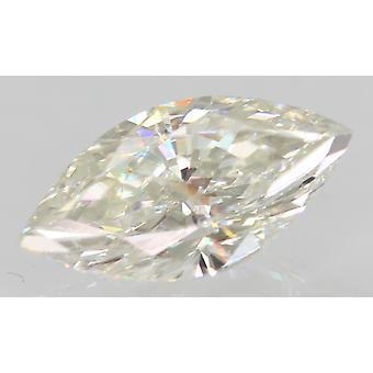 Certificato 0,77 Carat G VVS2 Marquise Migliorato Naturale Sciolto Diamante 9x4.61mm 2VG