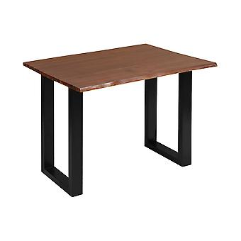Dark brown, black south loop desk stein world